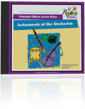 Fun Music Company - Instruments of the Orchestra CDROM