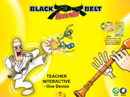 Black Belt Recorder Interactive - One Device