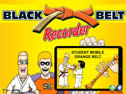 Black Belt Recorder Student Orange Mobile (iOS only)