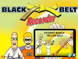 Black Belt Recorder Student Yellow Mobile (iOS only)