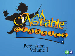 Notable Classics for Percussion Vol.1 - Multimedia Book