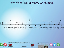 We Wish You a Merry Christmas - SongTorch Multimedia File