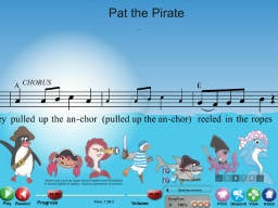 Pat the Pirate - Multimedia Book
